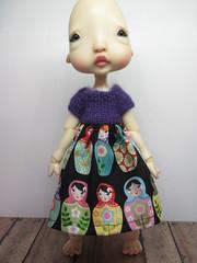 New Dresses (lovetherain-gina) Tags: ball doll knit dresses bjd bodice kane humpty jointed nefer lovetherain