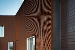 Zero-energy Environmental Centre (GMessaritakis) Tags: architecture facade copenhagen denmark rust energy steel centre environmental zero christensen perforated oxidized nordhavn corten messaritakis
