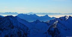 der Blick in die Ferne - Stubaier Gletscher (meli_schmid) Tags: winter mountains österreich berge stubai stubaiergletscher