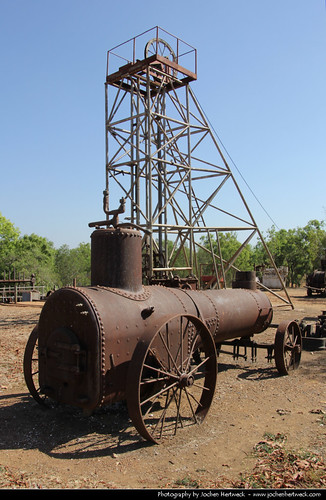 Miners' Park, Pine Creek, Northern Territory, Australia