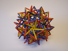 Joining Vertices: from virtual to real (fdecomite) Tags: print 3d printing math blender povray polyhedron polyhedra shapeways