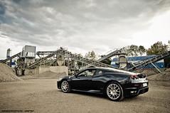 430 (Gaetan   www.carbonphoto.fr) Tags: auto sky black cars speed nikon great dramatic fast automotive ferrari exotic coche modena rims incredible luxury challenge v8 maranello f430 tifosi worldcars laferrari carbonphoto