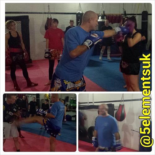 Enjoying Teaching Kickboxing Tonight At 5 Elements Basildons Martial Arts Academy Basildon Kickboxing