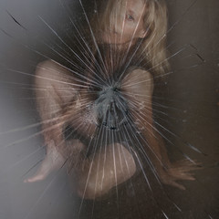 Shattered (YetAnotherLisa) Tags: portrait self autoportrait shattered hss