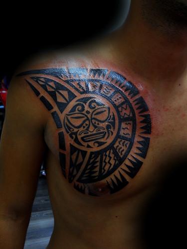 tatuaggio polinesiano - lavori tattoo fantasy