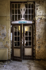 'Station 1' (Timster1973 - thanks for the 10 million views!) Tags: door color colour abandoned rotting station neglect canon germany tim europe driving decay neglected entrance abandon forgotten german urbanexploration rotten clinic sanatorium exploration mileage forgot abandonment decayed decaying dereliction ue clinical urbex eurotour pastlives beautyindecay urbanwandering sanatoriume timknifton timster1973 knifton benzinetour drivingcountlessmiles clinicprep