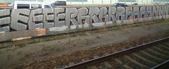 graffiti on track (remcovdk) Tags: graffiti track chrome urbanarte