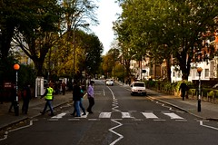 The Classic Abbey Road (Dan Gilbert Photography) Tags: road city white black bus london classic abbey walking high capital central vinyl landmark stop jacket and beatles vans van beacons across visibility the