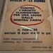 Affiche féministes italiennes contre l'avortement clandestin