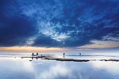 Palmahim's beach! (Hemo Kerem) Tags: longexposure sunset seascape beach water clouds fisherman day cloudy sony photographers hitech palmahim gnd tokina1116mmf28 sonya77 gndreversefilter
