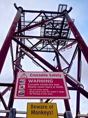 131130.KUALA BELAIT.WARNING (John Q2008) Tags: sign warning jacket crocodile brunei kualabelait hse mcy