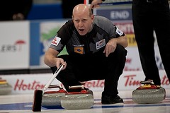 Kevin Martin (seasonofchampions) Tags: tim kevin winnipeg rings olympic olympics skip roar mb trials hortons marti curling 2013