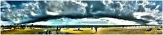 arco - canvas - 164x35 (Nacho GV (Kröst-e)) Tags: ocean sunset sea sky naturaleza beach nature clouds faro uruguay atardecer evening mar twilight cabo dusk playa panoramic oxido atlantic cielo panoramica nubes tormenta rancho choza oceano atlantico oxidado hierro panoramico polonio