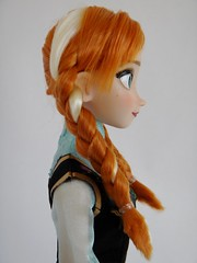 Singing Anna 16'' Doll - Frozen - US Disney Store Purchase - First Look - Deboxed - Portrait Left Rear View (drj1828) Tags: anna standing frozen us doll singing purchase disneystore firstlook 16inch deboxed