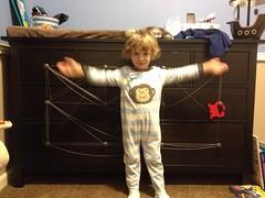361 of 365 - tada! ([ the black star ]) Tags: boy silly things stuff string dresser pajamas shrug twine preschooler 361365 theblackstar threehundredsixtyone uploaded:by=flickrmobile flickriosapp:filter=nofilter kingstonkid