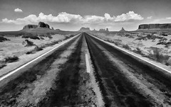 Road to the Future (Jeff Clow) Tags: arizona monumentvalley photoart jeffrclow photoshopcs6
