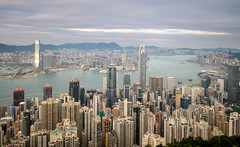 Hong Kong Cityscape II (E!) (Kenneth Cox) Tags: longexposure motion clouds skyscraper hongkong cityscape tripod central smooth kowloon icc ifc harbourside victoriapeak nisi wanchai landscapeorientation nd1000 neutraldensityfilters d5100 sigma1770mmf284macrohsmos