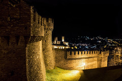 Castelli Bellinzona (Boffa Andrea) Tags: switzerland ticino unesco bellinzona castello chteau castelli
