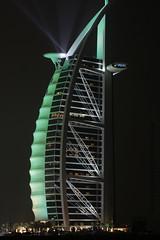 Burj Al Arab on Jumeirah Beach (Old 81 Studios) Tags: night dark star hotel dubai seven burjalarab jumeirah 7starhotel sailhotel