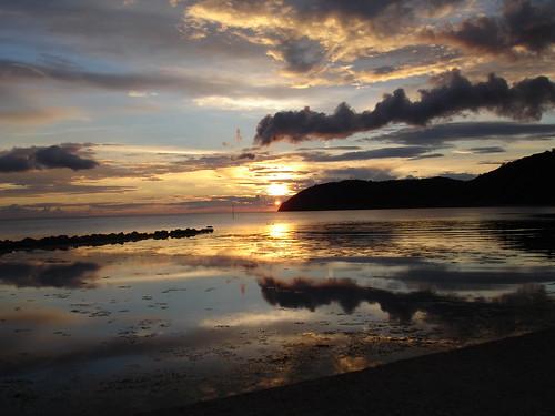 Sunset/solnedgång Mölle
