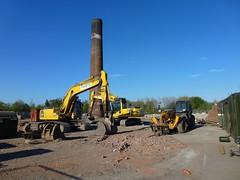 Bocm site (seanofselby) Tags: chimney jcb diggers barby selby bocm