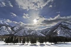 winter at hobble creek (ctfy) Tags: winter sun snow mountains clouds creek utah heart hobble