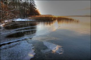 erstes Eis amTollensesee