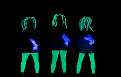 Black light dance (wolf4max) Tags: art dance theatre blacklight artists blacklightdance