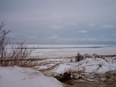 Grand Mere (Lance Springer) Tags: winter snow nature michigan greatlakes grandmere