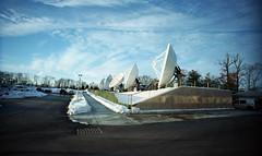 Satellite Dishes (neilsonabeel) Tags: film 35mm lomo lomography dish satellite analogue lcwide