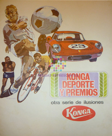 "Konga. ""Deporte y premios"". Años 60"