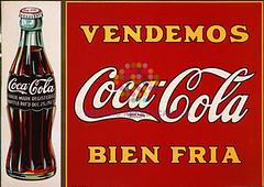 """Coca Cola. """"Bien fría"""". Años 80"""