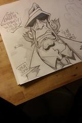 inspector gadget (Dr. Jonz) Tags: graffiti sketch dessin blackbook docteurjonz