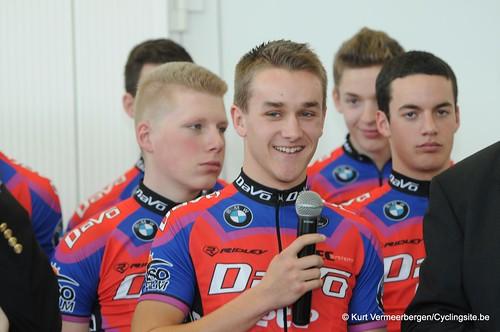 Ploegvoorstelling Davo Cycling Team (158)