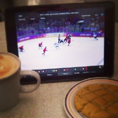 Thanks to the @cbcolympics App I could watch the game @MulberryCoffee #HamOnt & enjoy a #Latte & Peanut Butter Cookie #wearewinter #GoTeamCanada (friedman_sid) Tags: coffee square cafe cookie hamilton squareformat espresso olympics latte mayfair mulberry hfg hamont iphoneography instagramapp uploaded:by=instagram foursquare:venue=4c60506c54ac0f479b3fb521