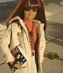 Posterize (Deejay Bafaroy) Tags: portrait orange black toys outdoors doll dolls erin portrt fr making puppe draussen posterize integrity the of fashionroyalty