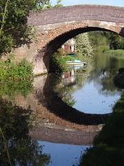 Canal Bridge reflection (lcfcian1) Tags: bridge sun reflection water river canal leicestershire south union sunny grand grandunioncanal canalbridge wigston southwigston