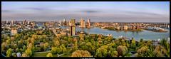 Panorama1-HDR-Euromast (jazzmatezz) Tags: haven netherlands harbor rotterdam nederland euromast erasmusbrug zuidholland nieuwemaas parkhaven behindthelenscap parkhaven203016gmrotterdam