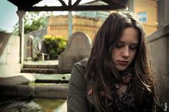 DSC_0160 (92alegna) Tags: fountain girl fuente serenity