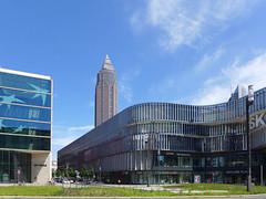 Skyline Plaza und Messeturm (JohannFFM) Tags: germany frankfurt main bnp messeturm paribas skylineplaza