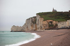 tretat, France (nikidel) Tags: tretat france normandie cliffs natural arch needles beach whitebird impression sea coast coastline