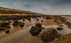 Coast (jammo s) Tags: hunstanton jurassic cliffs westnorfolk rockpools sky sea beach rock lightroom canoneos6d canonef24105mmf4lusm