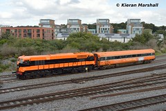 071 passes Islandbridge Jn, 6/10/16 (hurricanemk1c) Tags: railways railway train trains irish rail irishrail iarnród éireann iarnródéireann 2016 generalmotors gm emd 071 retrotrain belmond grandhibernian luxurytrain brel britishrailengineeringltd mark3 7122 islandbridgejunction dublin heuston
