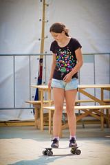 Skate Girl (Valeri Pizhanski) Tags: moscow  girl  skate tverskayaulitsa