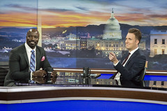 IMG_7266 (ruminasean) Tags: jordanklepper jordan klepper dailyshow daily show dailyshowwithtrevornoah late latenight television stageshots stagephotography stagecraft backstage mike colter mikecolter