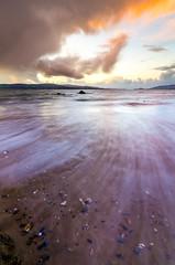 Buncrana Beach Sunset (MarkAndersonNikon) Tags: buncranna beach ireland longexposure sky sunset nikon d7000 tokina 1116mm
