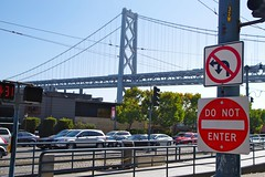 Traffic & Oakland Bay Bridge (frankbehrens) Tags: sanfrancisco california kalifornien oaklandbaybridge