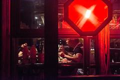 Dinner (Shanghai_Stefan) Tags: window dinning man chopsticks voyer night chinese red lantern