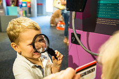 Purina Farms Visitor Center, Better with Pets exhibit (TaylorStudiosInc) Tags: purina pets magnifyingglass interactive magnifyingglassinteractive naturalhistory sciencemuseum childrensmuseum handson