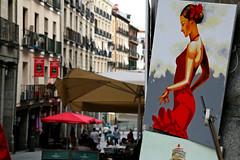 street art (NamiQuenbyBusy) Tags: madrid plazamayor spain spanyol spania